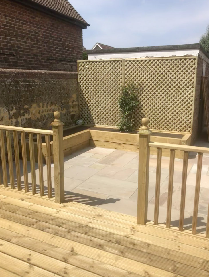 Timberwork by Brookview Landscapes