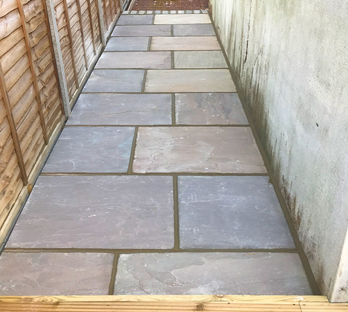 Paving one of the Services by Brookview Landscapes