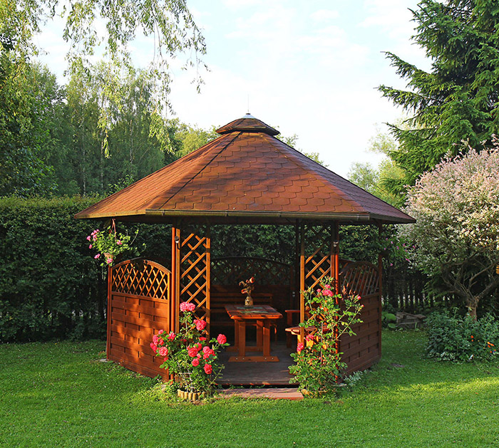 Garden Structures is one of the Services provided by Brookview Landscapes